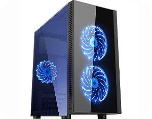Computador Gamer Tiburon Intel 9400f, Memoria 16Gb, Ssd 480Gb, Placa Mae 9ª Ger, Gab. Cg-01Ra, Fonte 500W, Vga Gt1030