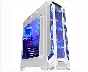 Computador Gamer Tiburon Intel 9400f, Memoria 16Gb, Ssd480+Hd1tb, Placa Mae 9ª, Gab Cg01F5 White, Fonte 500W, Vga Gt1030