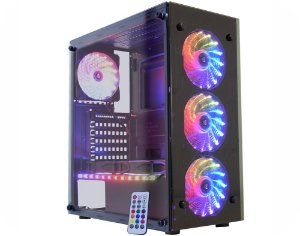 Computador Gamer Tiburon Intel 9100f, Memoria 16Gb, Ssd 240Gb, Placa Mae 9ª Ger, Gab. 03n9, Fonte 500W, Vga Gt1030