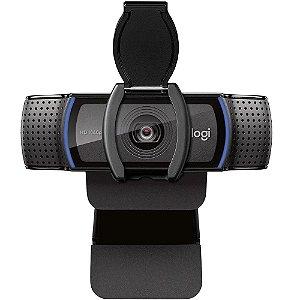 Webcam Logitech C920S Pro, Full Hd, 1080P, 15 Mega, Preta, 960-001257