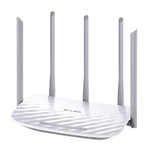 Roteador TP-Link Archer C60 AC1350 Wireless Dual Band 2.4/5GHz, 5 Antenas Fixas