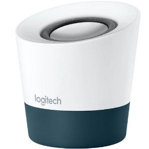 Caixa De Som Logitech Z51 Portatil 10W Rms Branca/Cinza Usb