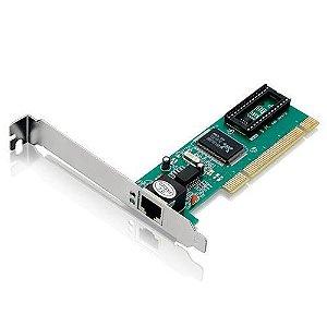 Placa De Rede Pci Multilaser Ga131 10/100 Mbps