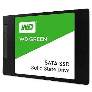 "Ssd Sata3 120 Gb Western Digital, Leitura 545 Mb/s, Gravação 430 Mb/s, Wds120G2G0A, 2.5"""