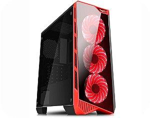 Computador Gamer Tiburon Intel 9100f, Memoria 16Gb, Ssd 240Gb, Placa Mae 9ª Ger, Gab. Cg-05p9, Fonte 550W, Vga 1650
