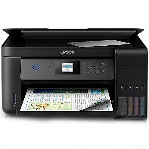 Impressora Multifuncional Epson L4160 Jato De Tinta, Colorida, Wi-Fi, Bivolt C11Cg23302