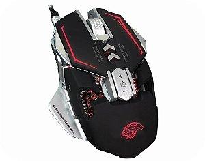 Mouse Gamer Mecanico Kmex Mo-D837 4Dpi 3200 7 Botões 4 Cores Leds
