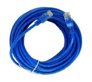 Cabo Rede Cat.6 10 Mts Pluscable Pc-Eth6U100Bl Patch Cord