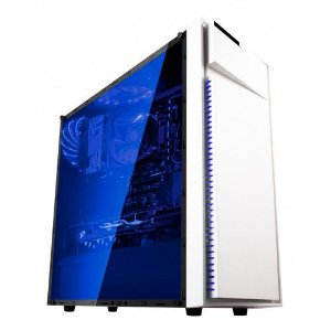 Gabinete Gamer Bluecase Bg-015 Branco S/Fonte S/Fan Usb 3.0 Frontal
