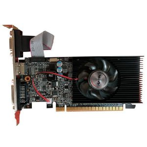 Placa De Video Ddr3 1Gb/064 Bits Afox Gt210 Af210-1024D3L8