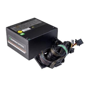 Fonte Atx 650 W Gamemax Gp650, 80 Plus Bronze, Pfc Ativo, Preta, Box