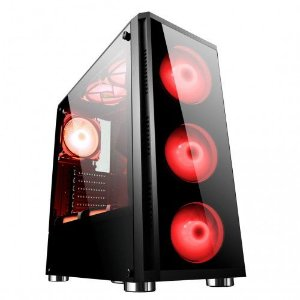 Computador Gamer Tiburon Intel 9700f, Memoria 8Gb, Ssd 120Gb, Placa Mae 9ª Ger, Gab. Bg-017, Fonte 650W, Vga Gt-730