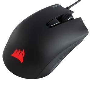 Mouse Gamer Usb Corsair Harpoon, Rgb Dinamica, Preto, 12.000 Dpi, 6 Botoes, Ch-9301111-Na
