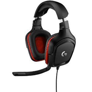 Headset Gamer Logitech G332, Stereo, Com Microfone, Drivers 50 mm, Multi-Plataforma