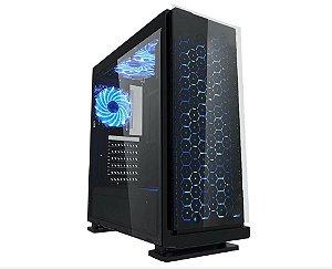 Computador Gamer Tiburon Intel 9400f, Memoria 8Gb, Ssd 480Gb, Placa Mae 9ª Ger, Gab. CG-7ev3, Fonte 650W, Vga Rx 570