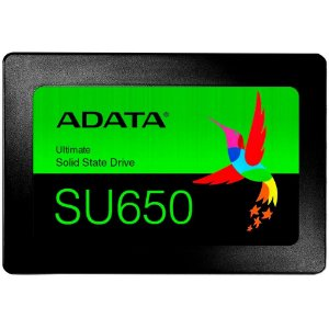 """Ssd Sata3 120Gb Adata Su650 2.5"""", Leitura 520MB/s, Gravação 450MB/s, Asu650Ss-120Gt-R"""