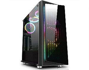 Computador Gamer Tiburon Intel 9100f, Memoria 16Gb, Ssd 240Gb, Placa Mae 9ª Ger, Gab. Cg-03re, Fonte 450W, Vga Rx 570