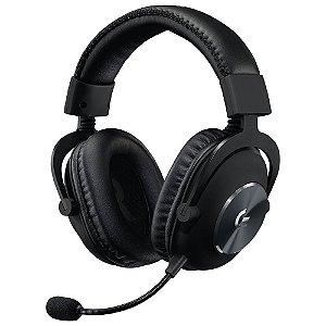 Headset Gamer Logitech Pro, Para Jogos Stereo, 981-000811