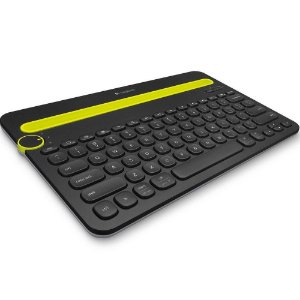 Teclado Sem Fio Logitech K480, Bluetooth, Multi-Device, US, Cinza, 920-006348