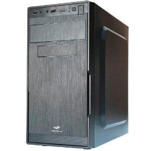 Gabinete Comum C3Tech Mt-23V2Bk, Micro-Atx, Com Fonte 200W