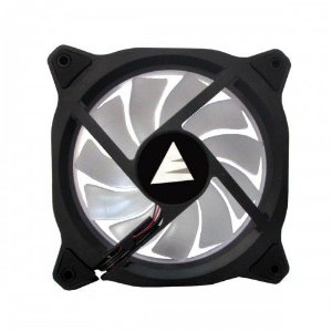 Cooler Fan Branco Bluecase Bfr-05W, 12x12x2.5 Cm, Led Fan Ring