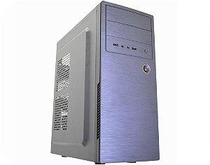 Gabinete Comum Kmex Gx-18E0, Com Fonte, Audio 97+2*, Usb 2.0, Preto, Atx, Micro Atx E Itx