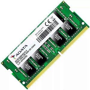 Memoria Notebook Ddr4 4Gb/2666 Mhz Adata Ad4S2666J4G19-S