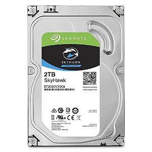 "Hd Desktop 2 Tb Seagate St2000Vx008 Skyhawk Surveillance Sata6 5900Rpm 64Mb 3.5"""