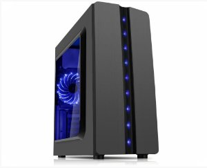 Pc Gamer Amd 3200G, Memória 8Gb, Ssd 240Gb WD, Mb Asus Prime A320M-k, Gabinete Kmex Cg-04R8 , Fonte 550W Gamemax 80 Plus