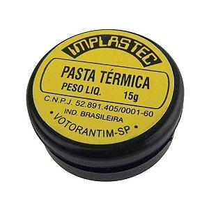 Pasta Térmica Implastec 6155, 15 Gramas, Branca