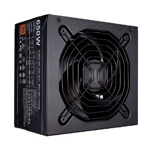 Fonte Atx 650 W Cooler Master Mwe 650, 80 Plus Bronze, Pfc Ativo, Mpe-6501-Acaab-Br