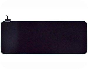 Mousepad Gamer Kmex Fx-X9030, Com Bordas Rgb, 7 Cores, 80Cm*30Cm*3Mm, Cabo 1.8 Mts