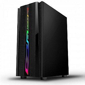 Pc Gamer Amd 3400G, Memória 4Gb, Ssd 120Gb Wd, Mb Asus Prime B450M, Gabinete Bluecase Bg-027, Fonte Atx 650 Cooler Maste