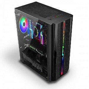 Pc Gamer Intel 9100F, Memória 16Gb, Ssd 120Gb King, Mb Gigabyte B360M, Gabinete Bluecase Bg-027, Fonte 650, Vga R5 220
