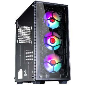 Pc Gamer Amd 3200G, Mem. 8Gb Kingston, Ssd 240Gb Wd, Mb Gigabyte A320M-S2H, Gabinete Redragon Gc-903, Fonte 500 Bluecase