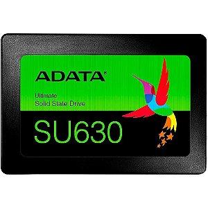 Ssd Sata3 240 Gb Adata Asu630Ss-240Gq-R, Lê: 520 Mb/S, Grava: 450 Mb/S