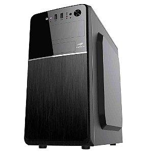 Pc Intel I3-2120, Memória 4Gb Afox, Ssd 120Gb Kingston, Mb Duex Dx H61M, Gabinete C3Tech Mt-24V2Bk