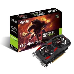 Placa De Vídeo Ddr5 4Gb/128 Bits Asus Geforce Cerberus-Gtx1050Ti-O4G