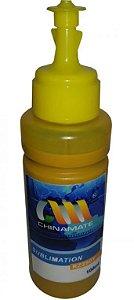Tinta Chinamate Compatível Epson Rz290Y Amarelo Sublimatica 100Ml