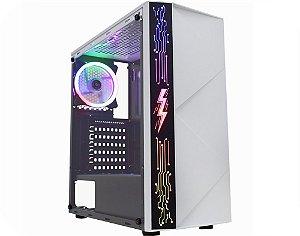 Pc Gamer Amd Ryzen 3200G, Gigabyte A320Ms2H, Ssd 120Gb Afox, Mem. 16Gb Afox, Gab. Kmex 12A8, Fonte 500