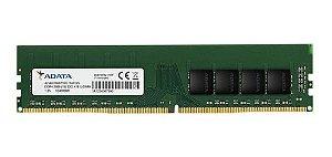 Memória Desktop Ddr4 8Gb/2666 Mhz Adata, Ad4U2666W8G19-S