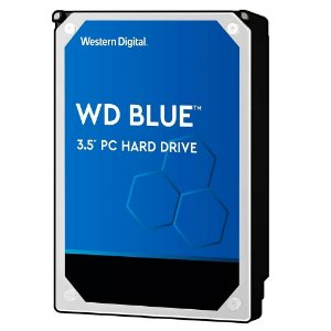 Hd Desktop 2 Tb Western Digital Wd20Ezaz, Blue, Sata3, 5400 Rpm, Cache 256 Mb, 3.5""