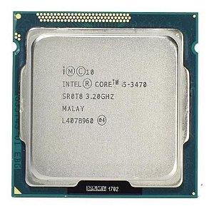 Processador 1155 Intel 3ª Geração Core I5-3470, 3.2Ghz, Sem Cooler, 6Mb, Com Vídeo Integrado