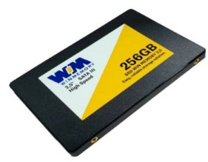 "Ssd Sata3 256 Gb Winmemory Swr256G, 2.5"", 7Mm, Lê: 550 Mb/S, Grava: 500 Mb/S"