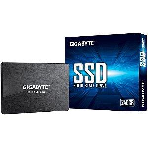 Ssd Sata3 240 Gb Gigabyte, Leitura 500 Mbs, Gravação 420 Mbs, Gp-Gstfs31240Gntd