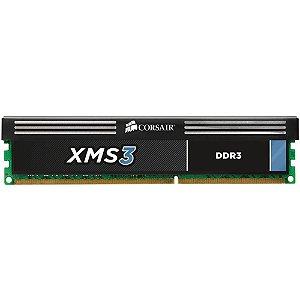 Memória Desktop Ddr3 8Gb/1333 Mhz Corsair Xms3, Cmx8Gx3M1A1333C9