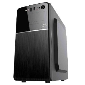 Pc Intel I3-7100, Gigabyte H110Ms2H, Ssd 480Gb Wd, Mem. 4Gb Bluecase, Gab. C3Tech Mt24V2Bk