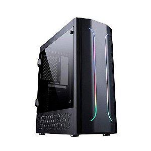 Pc Gamer Intel I3-10100F, Gigabyte H410M H, Ssd 240Gb Kingston, Mem. 8Gb Afox, Bluecase Bg011, Fonte 500, Gtx1050Ti