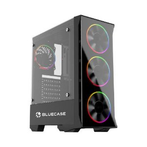 Pc Gamer Intel I3-10100F, Gigabyte H410M H, Ssd 480Gb Wd, Mem. 8Gb Afox, Bluecase Bg036, Fonte 500, Gtx1050Ti