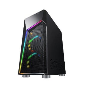 Pc Gamer Intel I3-10100F, Gigabyte H410M H, Ssd 480Gb Wd, Mem. 8Gb Hyperx, Bluecase Bg020B, Fonte 500, Gtx1650